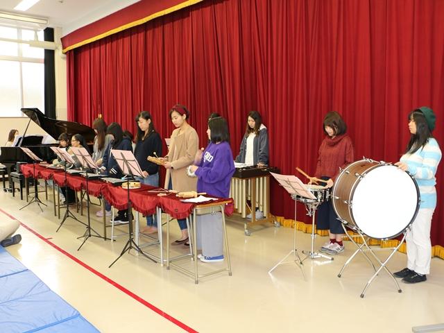 ホール発表:合奏 器楽合奏研究