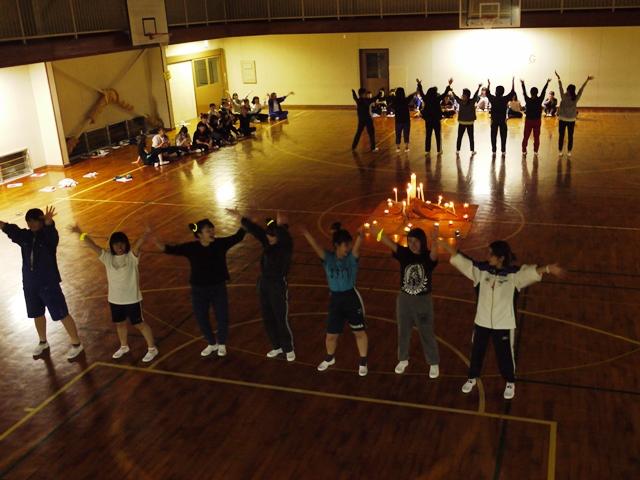 東京保育名物!キャンドルファイヤーと言えばダンスです