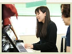 きめ細やかなピアノの指導