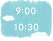 9:00~10:30
