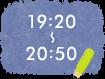 19:20~20:50